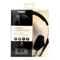 Bytech HDST-6002 On Ear Stereo Headset with Microphone