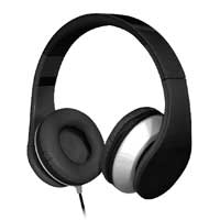 Eagle Technologies ET-ARHP300F-BK On Ear Stereo Headphones - Black
