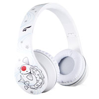 Eagle Technologies ET-ARHP300F-WH On Ear Stereo Headphones  - White