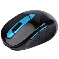 Azio A4TECH G11 Wireless Optical Rechargeable Mouse Black