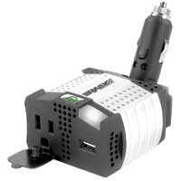 Rally 12 Volt 100 Watt Plug Inverter with USB Charging Port