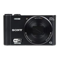 Sony Cyber-shot DSC-WX300 18.2 Mega Pixel Digital Ultra Compact Camera - Black