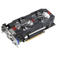 ASUS GTX650TI-OC-2GD5 NVIDIA GeForce GTX 650Ti OC 2048MB GDDR5 PCIe 3.0 x16 Video Card