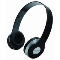 Inland On Ear Stereo Headphones - Black