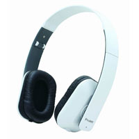 Inland On Ear Stereo Headphones - White