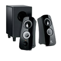 Logitech Z323 2.1 Speaker System Black - Recertified