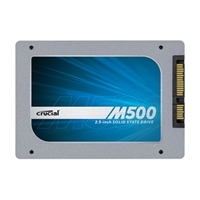 "Crucial M500 Series 240GB SATA 6.0Gb/s 2.5"" Internal Solid State Drive (SSD) CT240M500SSD1 with Marvell 88SS9187 Controller"