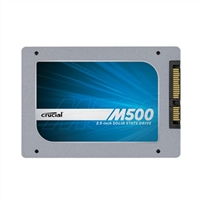 "Crucial M500 Series CT480M500SSD1 480GB SATA 6.0Gb/s 2.5"" Internal Solid State Drive (SSD) with Marvell 88SS987 Controller"