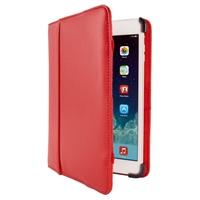 Cyber Acoustics Leather Folio Cover for iPad Mini - Red