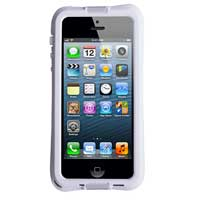 The Joy Factory aXtion Go Rugged Water-resistant Case with Air Cushion Design for iPhone 5 - White