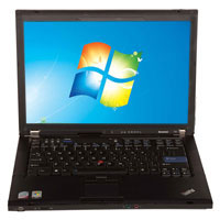 Lenovo ThinkPad T61 Laptop Computer Refurbished - Black