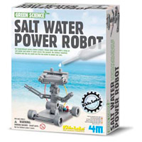 Toysmith Salt Water Power Robot Toy Building Kit