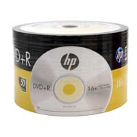 HP DVD+R 16X 4.7GB 50-Pack