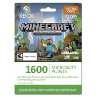 InComm Xbox LIVE 1600 Point Card For Minecraft