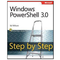 Microsoft Press WINDOWS POWERSHELL 3 STEP