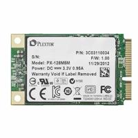 Plextor PX-128M5M 128GB SATA III 6.0Gb/s mSATA Internal Solid State Drive (SSD)