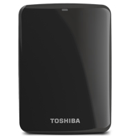 Toshiba Canvio Connect 750GB SuperSpeed USB 3.0 Portable Hard Drive - Black