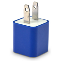 iEssentials 1 Amp USB Wall Charger - Blue