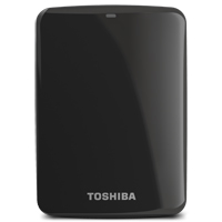 Toshiba Canvio Connect 2TB SuperSpeed USB 3.0 Portable Hard Drive - Black