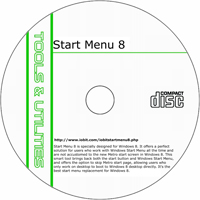 MCTS Start Menu 8.1 Shareware/Freeware CD (PC)