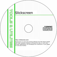 MCTS Slickscreen 1.5.3.3 Shareware/Freeware CD (PC)