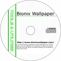 MCTS Bionix Wallpaper 7.7 Shareware/Freeware CD (PC)