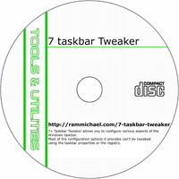 MCTS 7+ Taskbar Tweaker 4.1.5 Shareware/Freeware CD (PC)