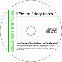 MCTS Efficient Sticky Notes 3.10 build 327 Shareware/Freeware CD (PC)