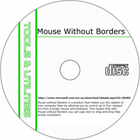 MCTS Mouse without Borders 2.1.2.1024 Shareware/Freeware CD (PC)