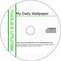 MCTS My Daily Wallpaper 6.31 Shareware/Freeware CD (PC)