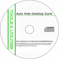 MCTS AutoHideDesktopIcons 2.02 Shareware/Freeware CD (PC)