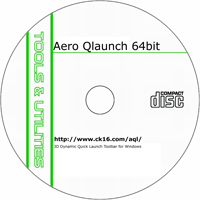 MCTS Aero QLaunch 1.2.22 (64-Bit) Shareware/Freeware CD (PC)