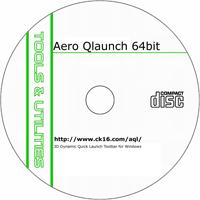 MCTS Aero QLaunch 1.2.22 (64-Bit) Shareware/Freeware CD (PC)