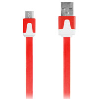 Digipower 3.3' Micro USB Charge & Sync Cable - Red