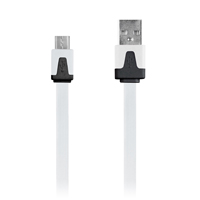 Digipower 3.3' Micro USB Charge & Sync Cable - White