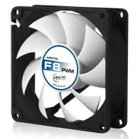 Arctic Cooling F8 PWM 80mm Case Fan