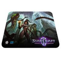SteelSeries QCK StarCraft II Kerrigan Edition Mouse Pad