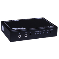 Vanco HDMI 3 x 1 Switcher with IR Control