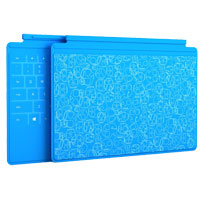 Microsoft TouchCover Limited Edition for Surface - Skulls