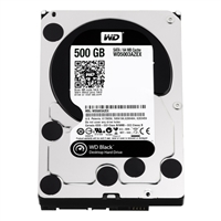 "WD Black 500GB 7,200 RPM SATA III 6.0Gb/s 3.5"" Internal Desktop Hard Drive WD5003AZEX - Bare Drive"