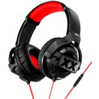 JVC HAMR55X XX Xtreme Xplosives Stereo Headphones with Mic and Remote Black