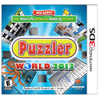 Maximum Games Puzzler World 2013 (3DS)