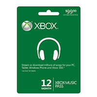 Microsoft XBOX Music 12 Month Pass