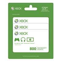 Microsoft Press Xbox LIVE 800 Point Card 3-Pack