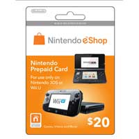 Nintendo eShop $25 Points Card