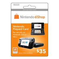 Nintendo eShop $30 Points Card