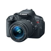 Canon EOS Rebel T5i 18 Megapixel Digital SLR Camera Kit with 18-55mm IS STM Lens - Black