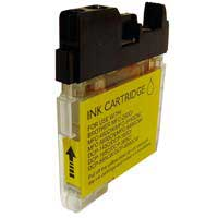Micro Center Compatible Brother LC-61Y Yellow Ink Cartridge