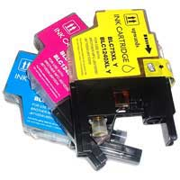 Micro Center Compatible Brother LC-75CMY Color Ink Cartridge 3-Pack