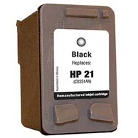 Micro Center Remanufactured HP 21 Black Ink Cartridge